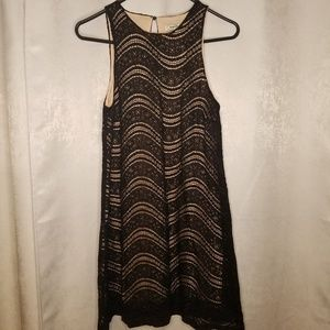 Speechless Black Beaded Dress Size Medium